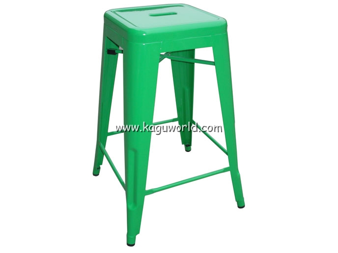 Nice Replica Tolix H Stool 65 Cm Green